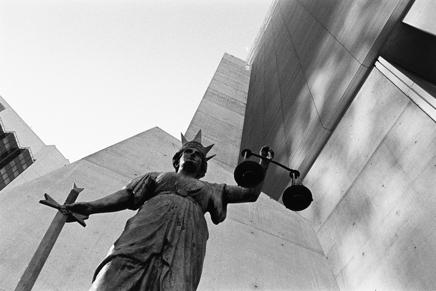 The old scales of justice…