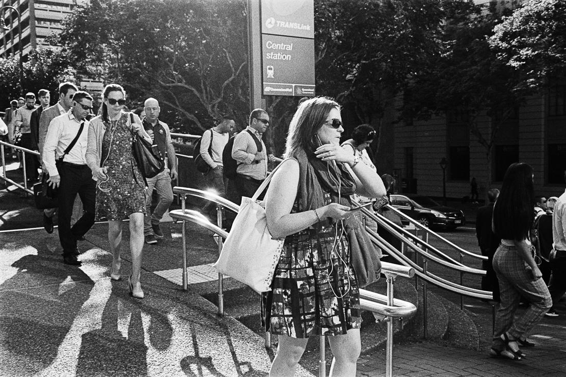 Commuters commuting