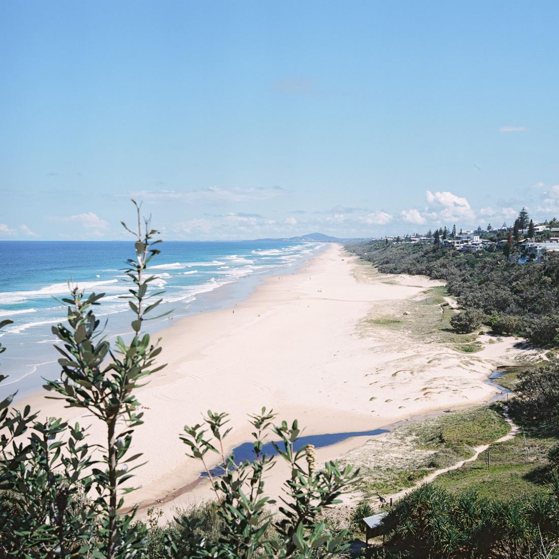 Sunshine Beach, literally.