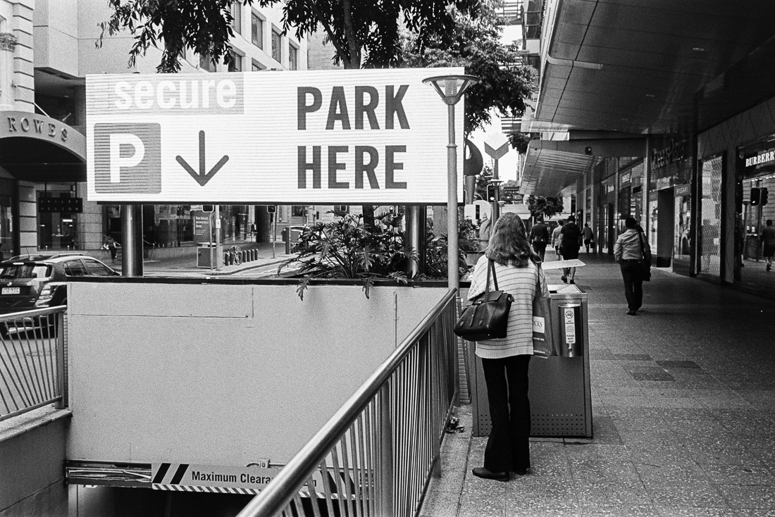 Or park there?