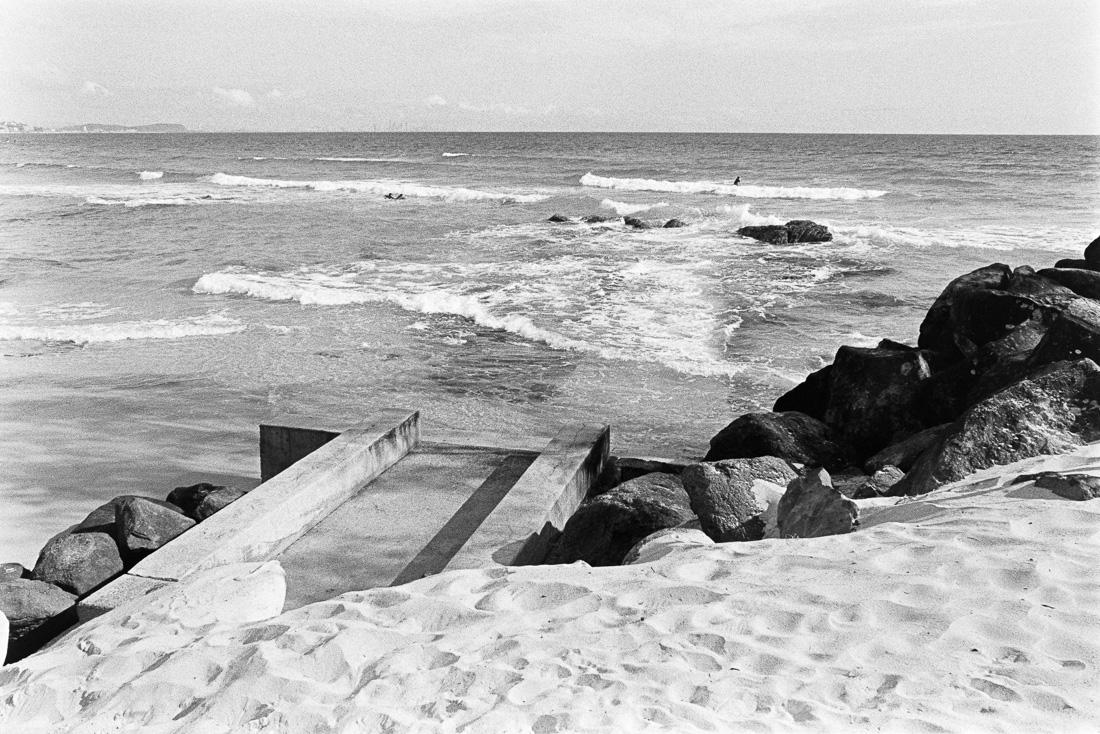 Kirra beach.