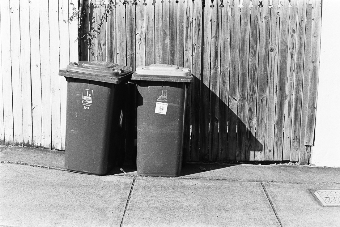 A tale of two bins.