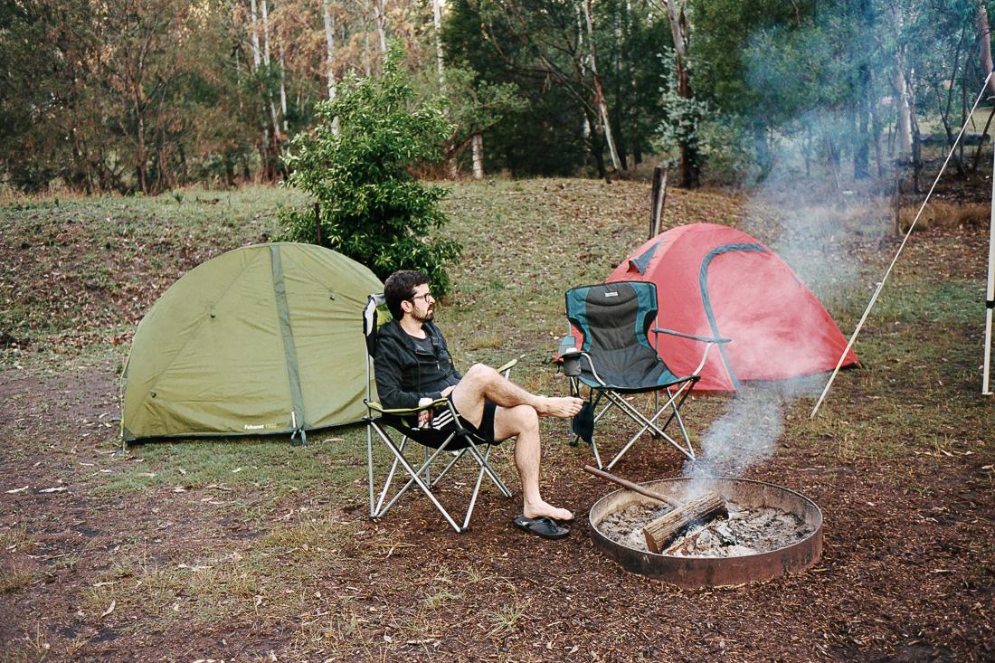 Our basic camping setup.