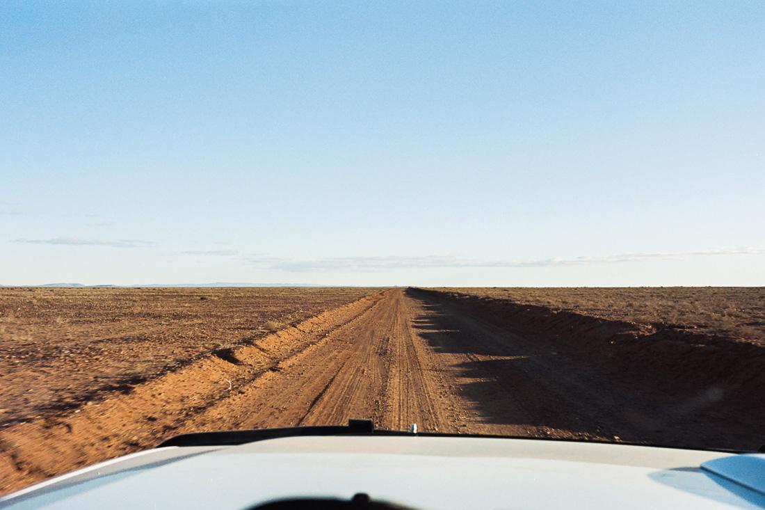Making our way down toward Arkaroola. Surprisingly good dirt road.