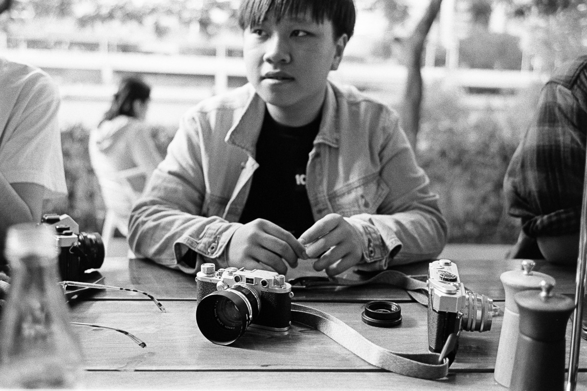 A classic Leica iii.