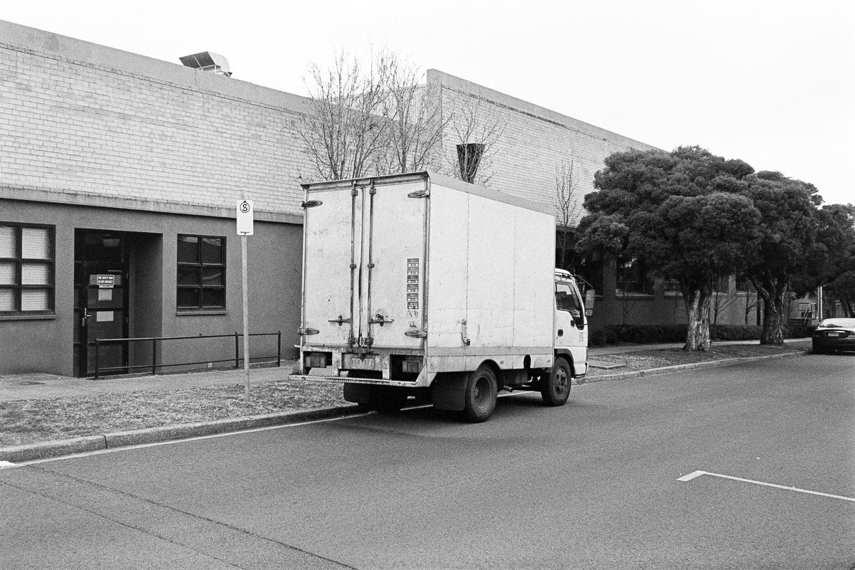 A very short truck.