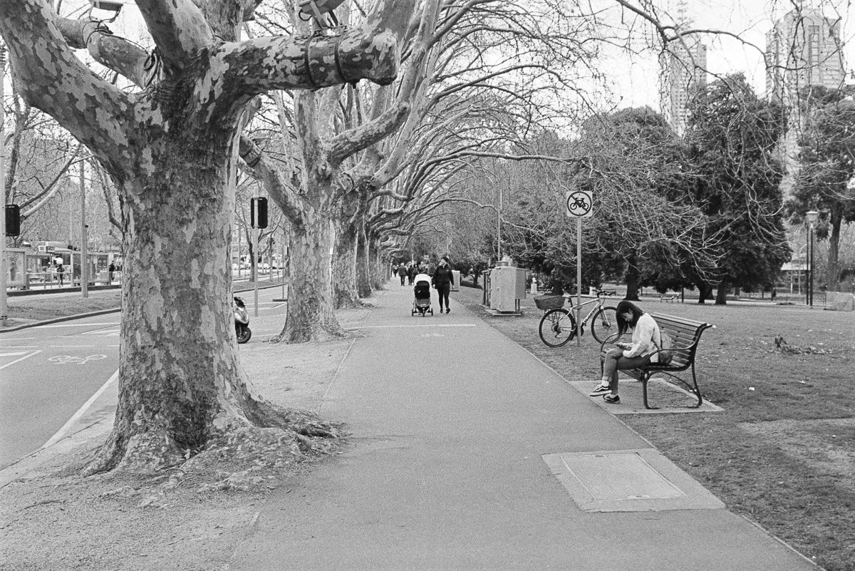 St Kilda Road.