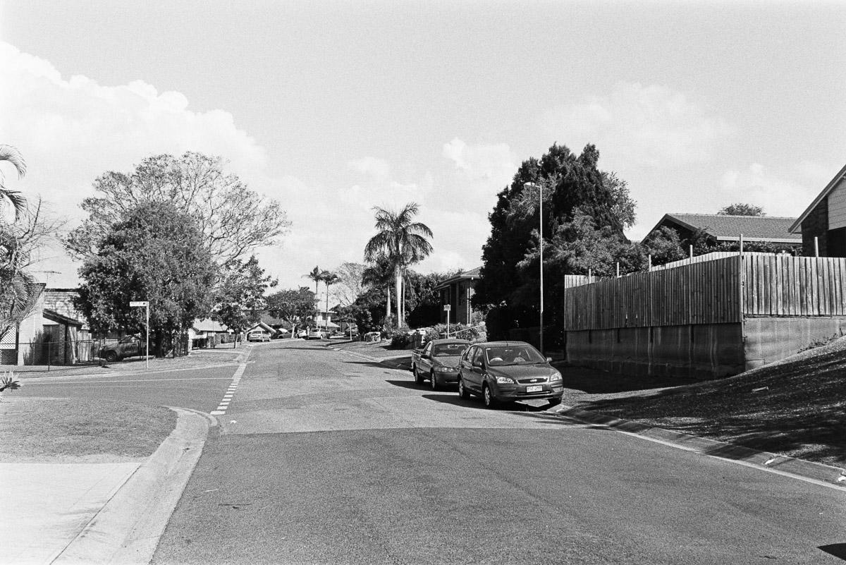 Dad's street.