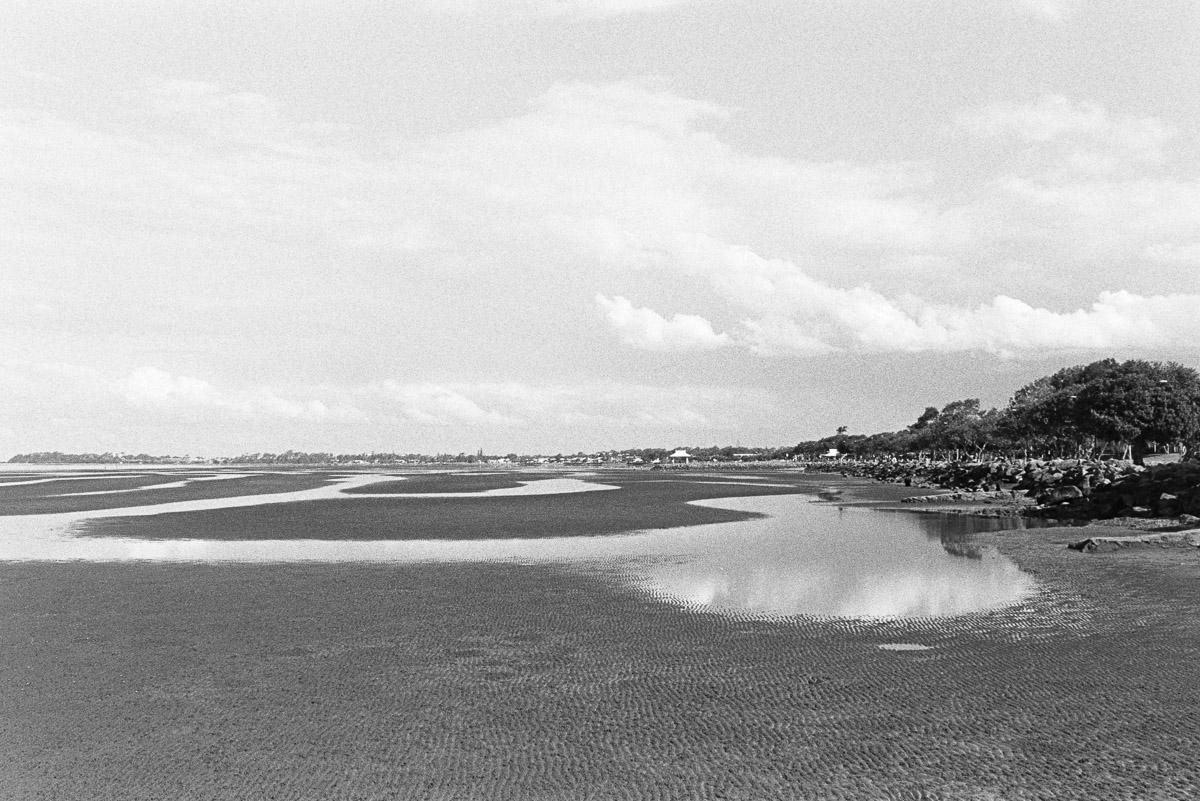 Low tide at Sandgate.