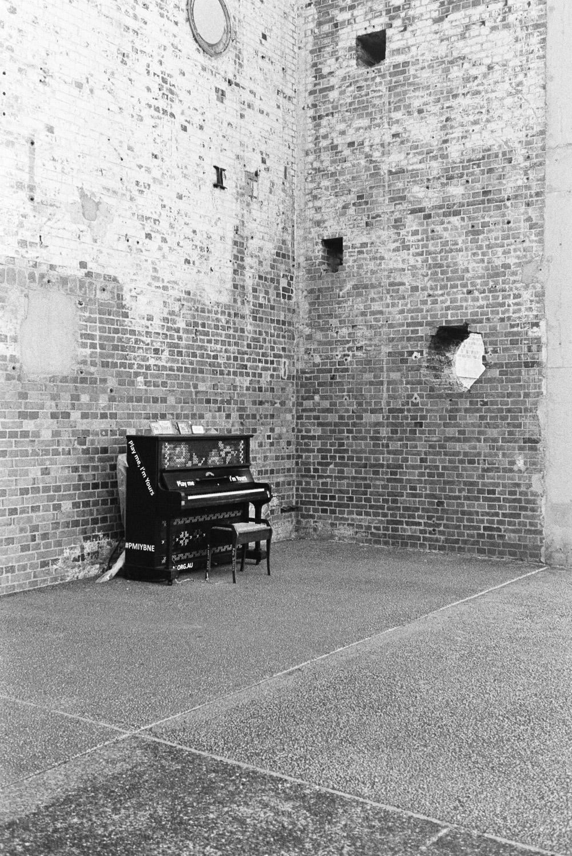 Powerhouse piano.