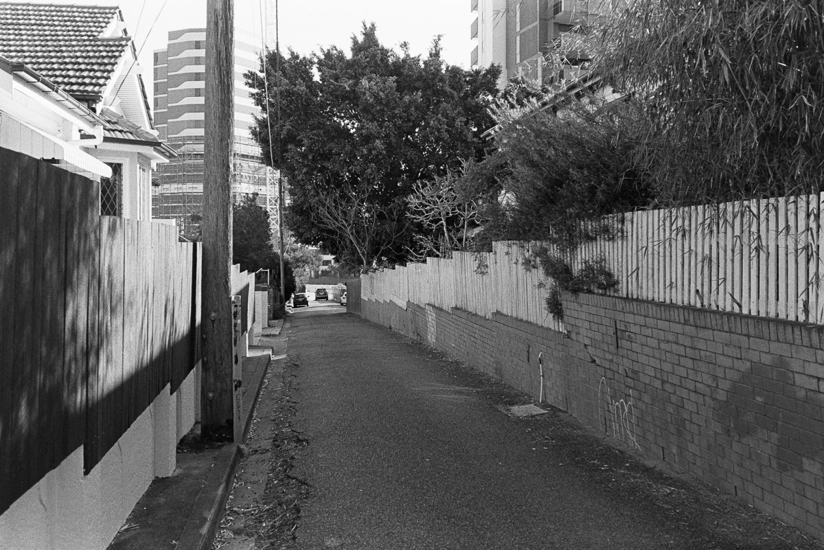 West End back streets.