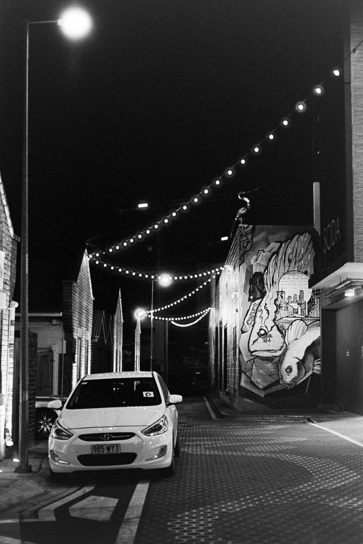 Lights of Fish Lane.