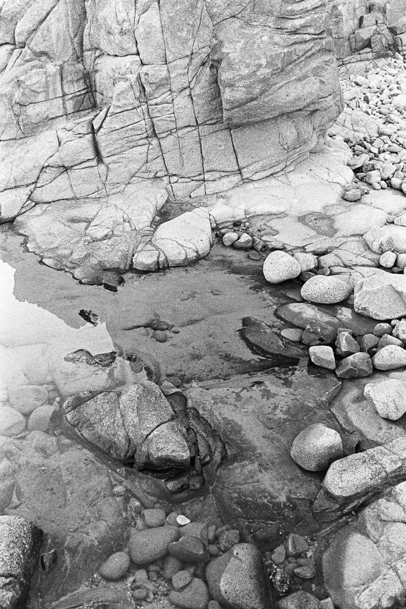 Coastal rocks.