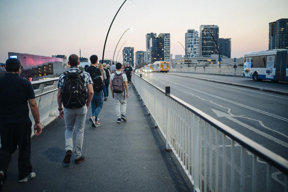 Victoria Bridge walks.