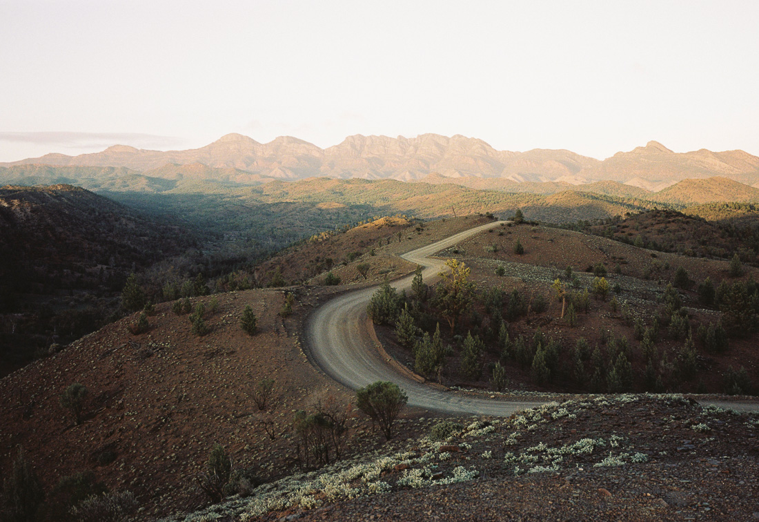 Flinders Ranges on Kodak Portra 160.