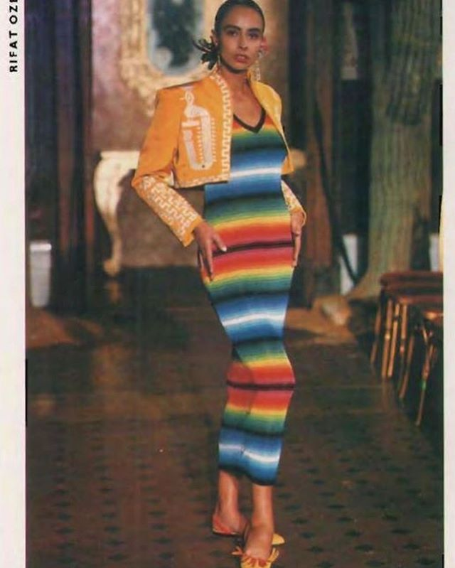 Rifat Ozbek Spring/Summer 1988