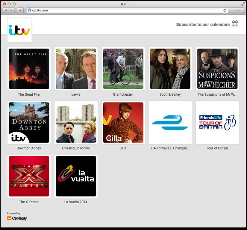 Subscribe Page (Desktop)