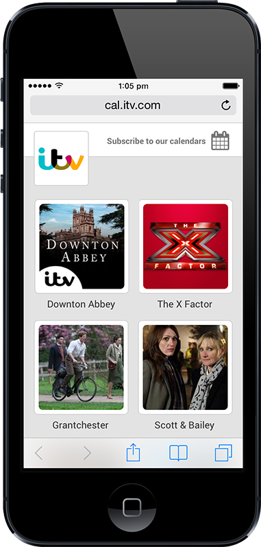 Mobile #SHOWS Page