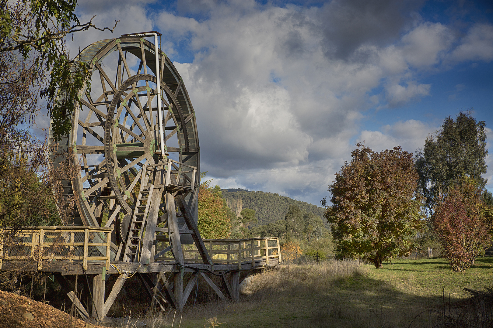 Water Wheel - Cathy Duncombe