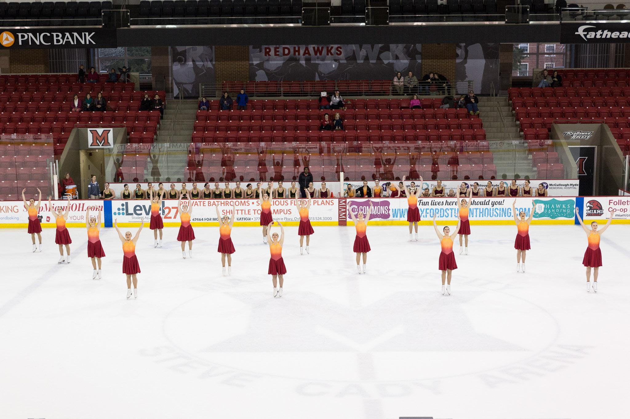 D5015 Synchronized Skating Exhibition