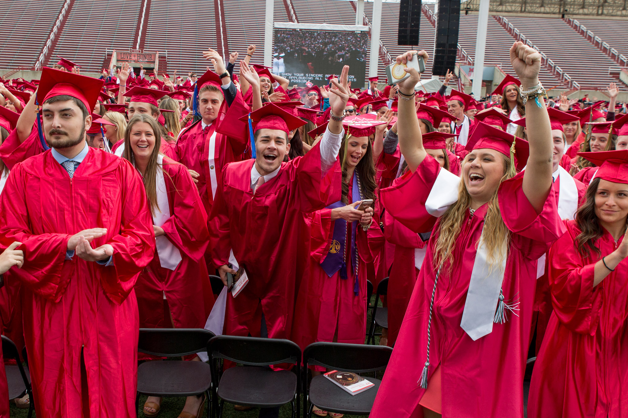 J4816 2016 Spring Commencement Yager Stadium