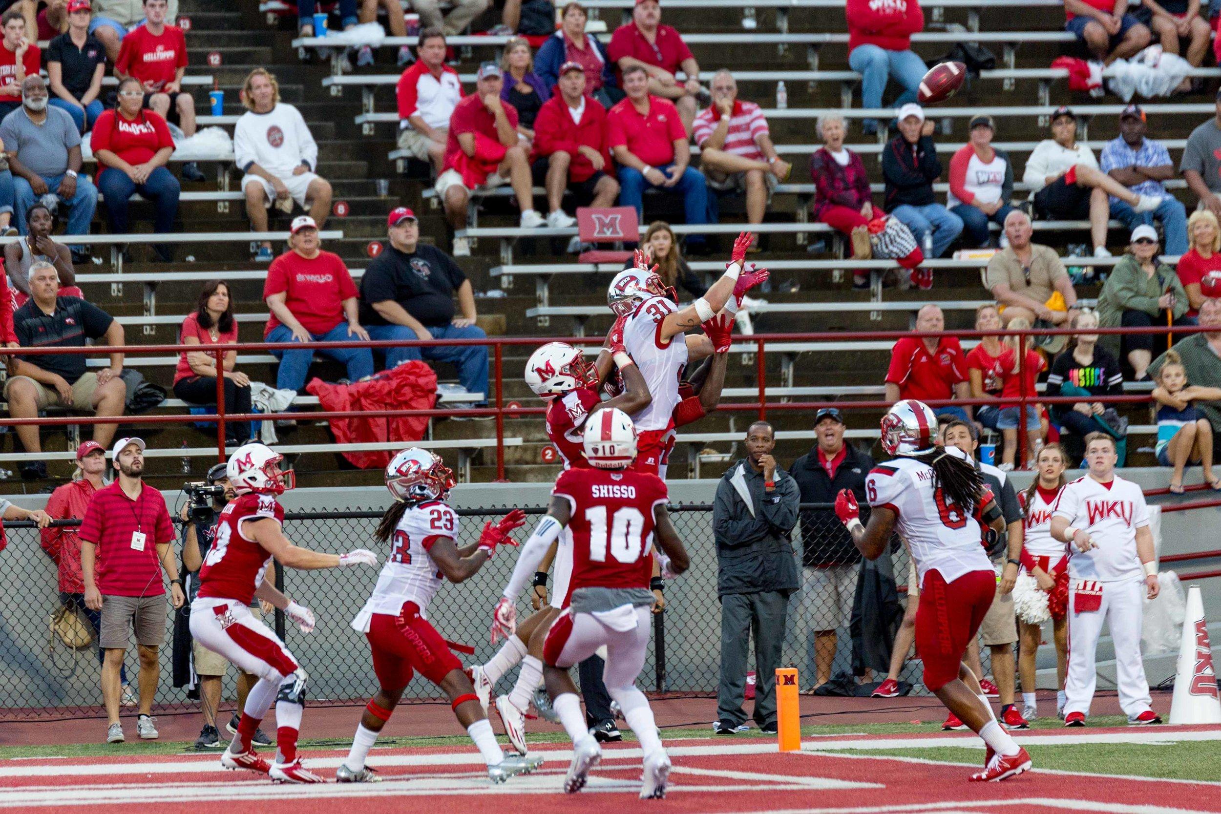 D2517 Football vs Western Kentucky University WKU
