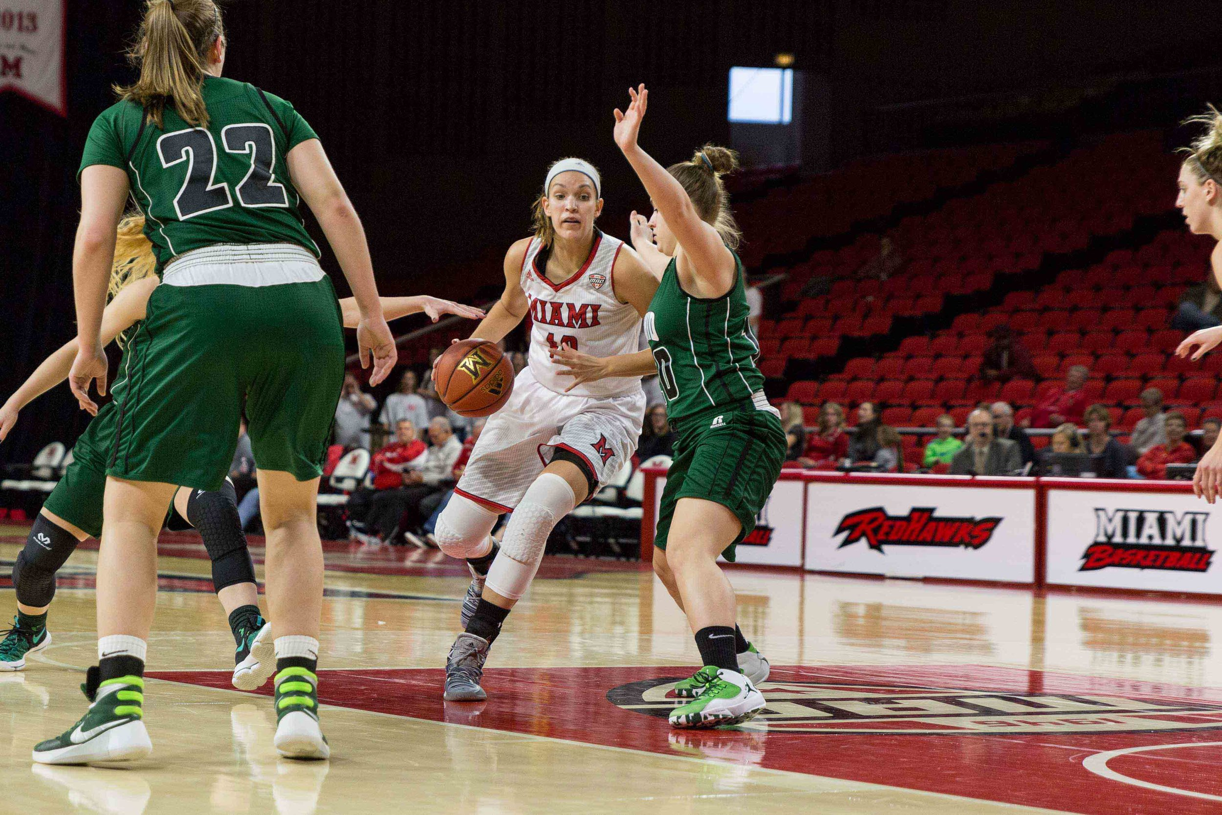 D8417 Women's Basketball vs Ohio