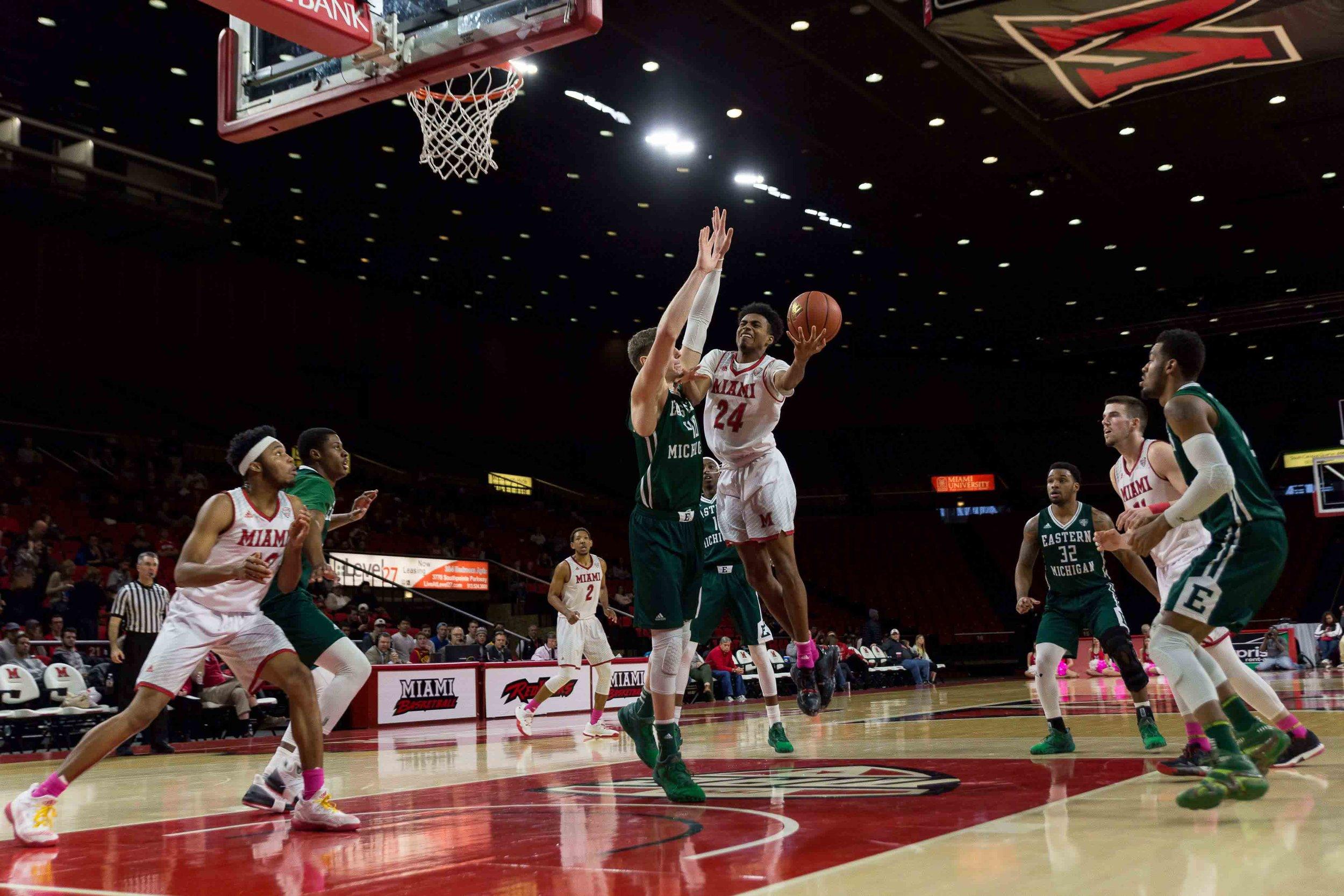 D8517 Men's Basketball vs Eastern Michigan University