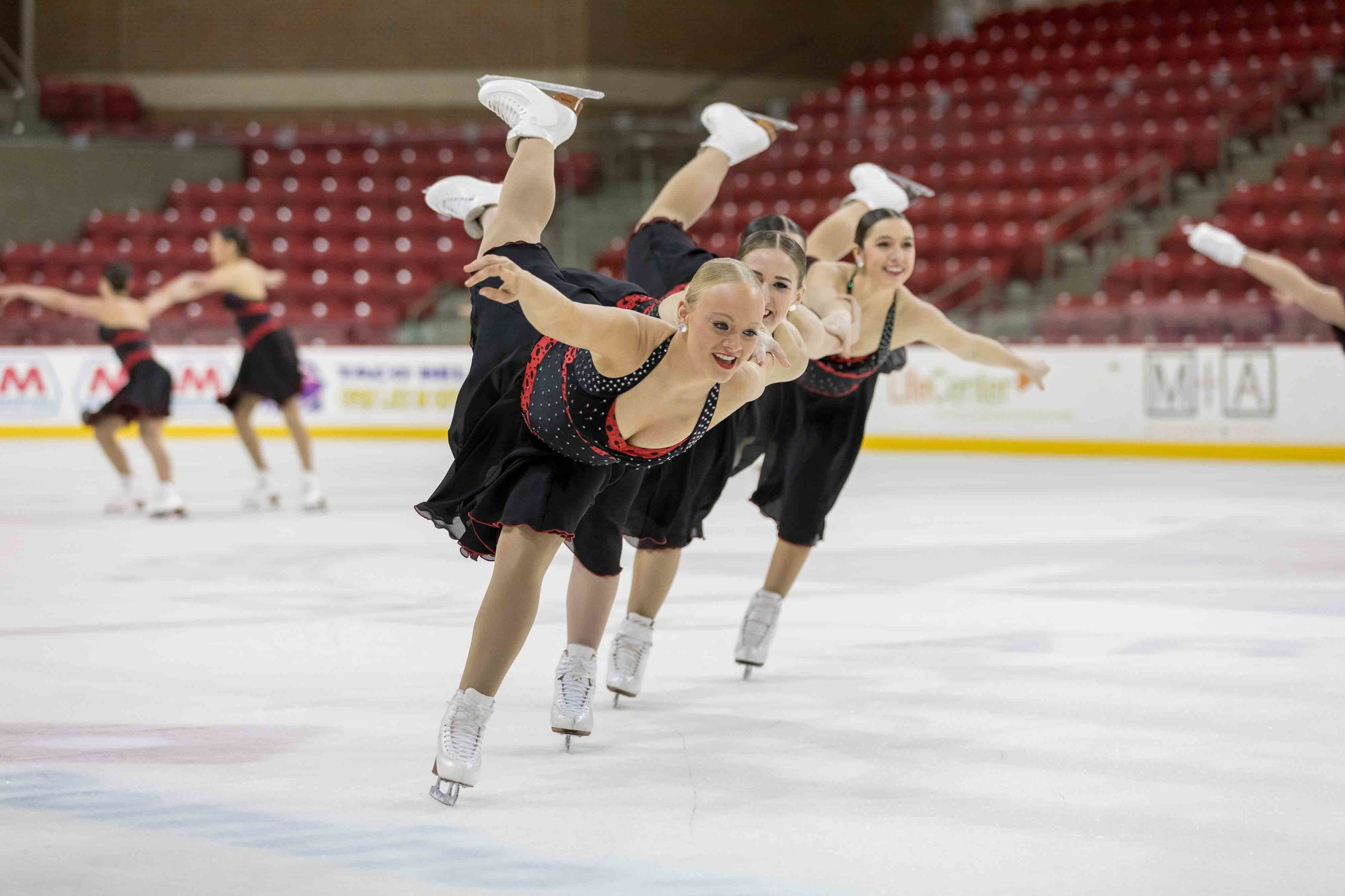 D9217 Synchro Skating National Send Off Exhibition