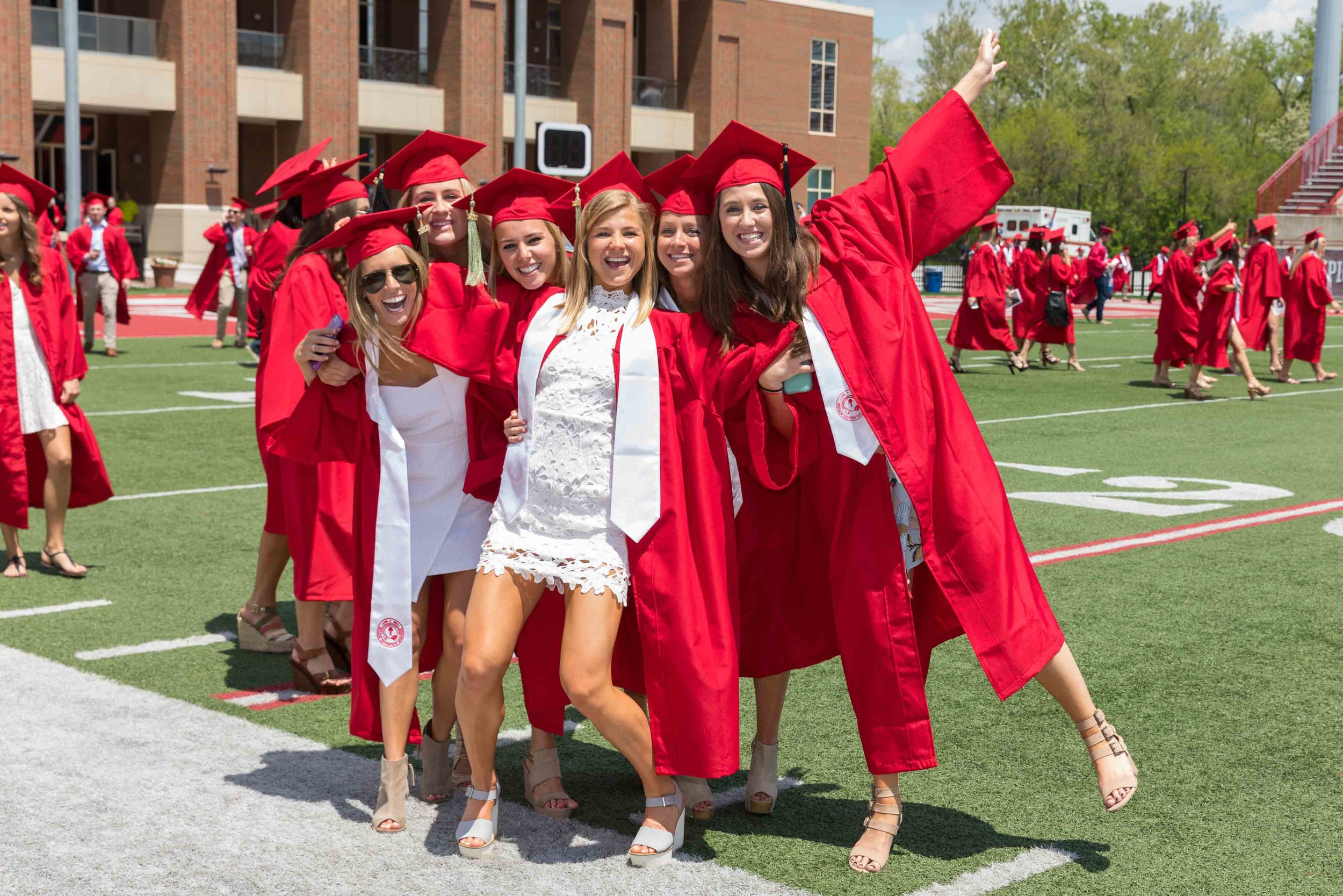 J5917 2017 Spring Commencement Yager Stadium