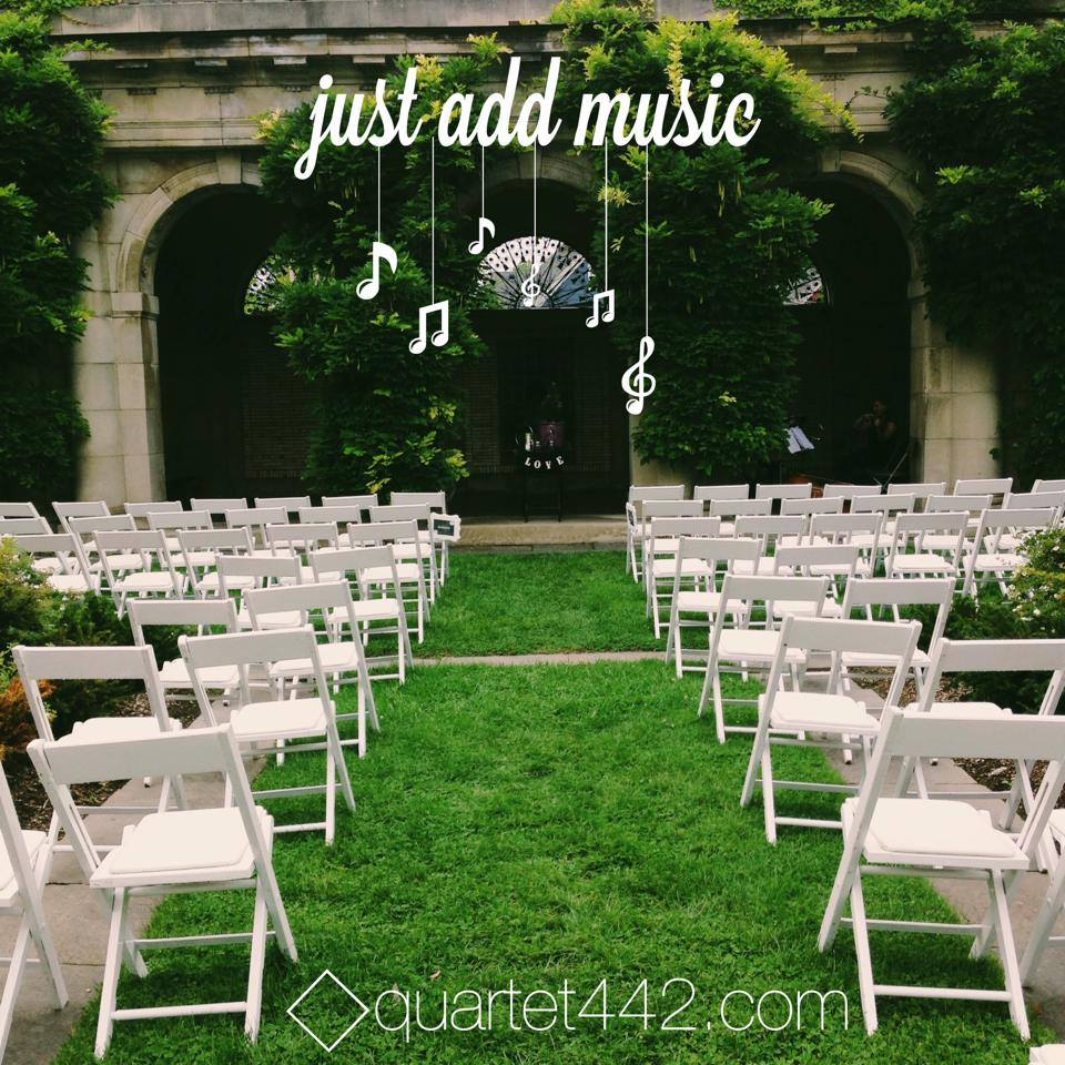 String quartet for weddings and events in Rochester, NY