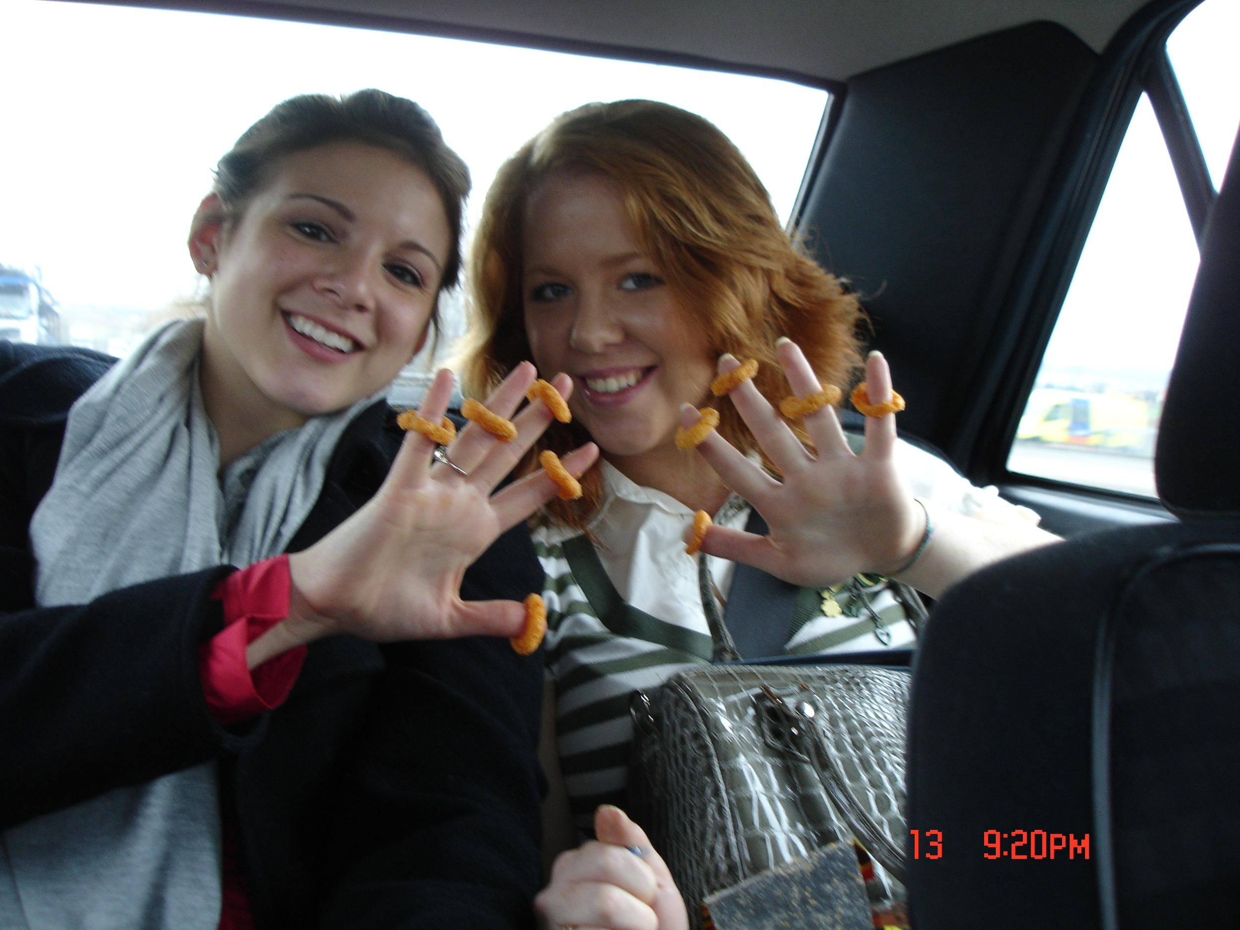 Burger rings - yumm!