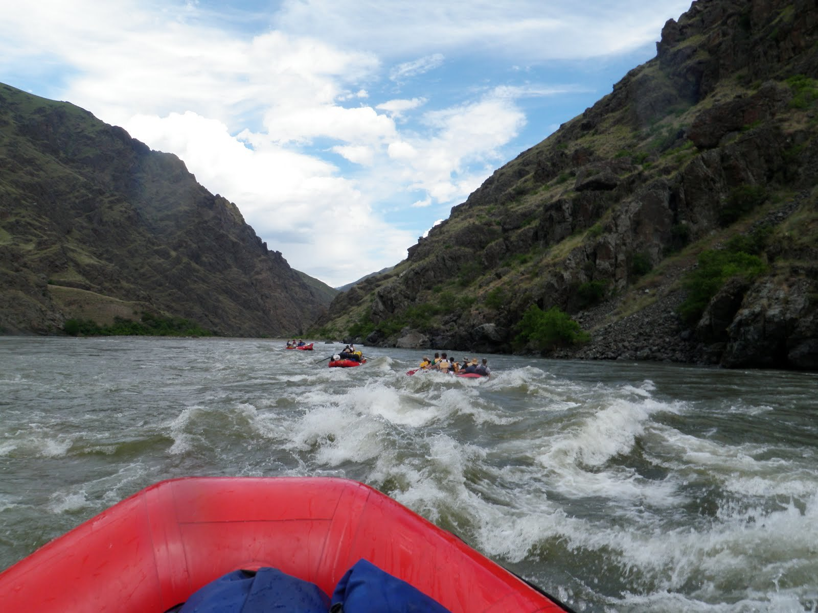 Rafting the Snake