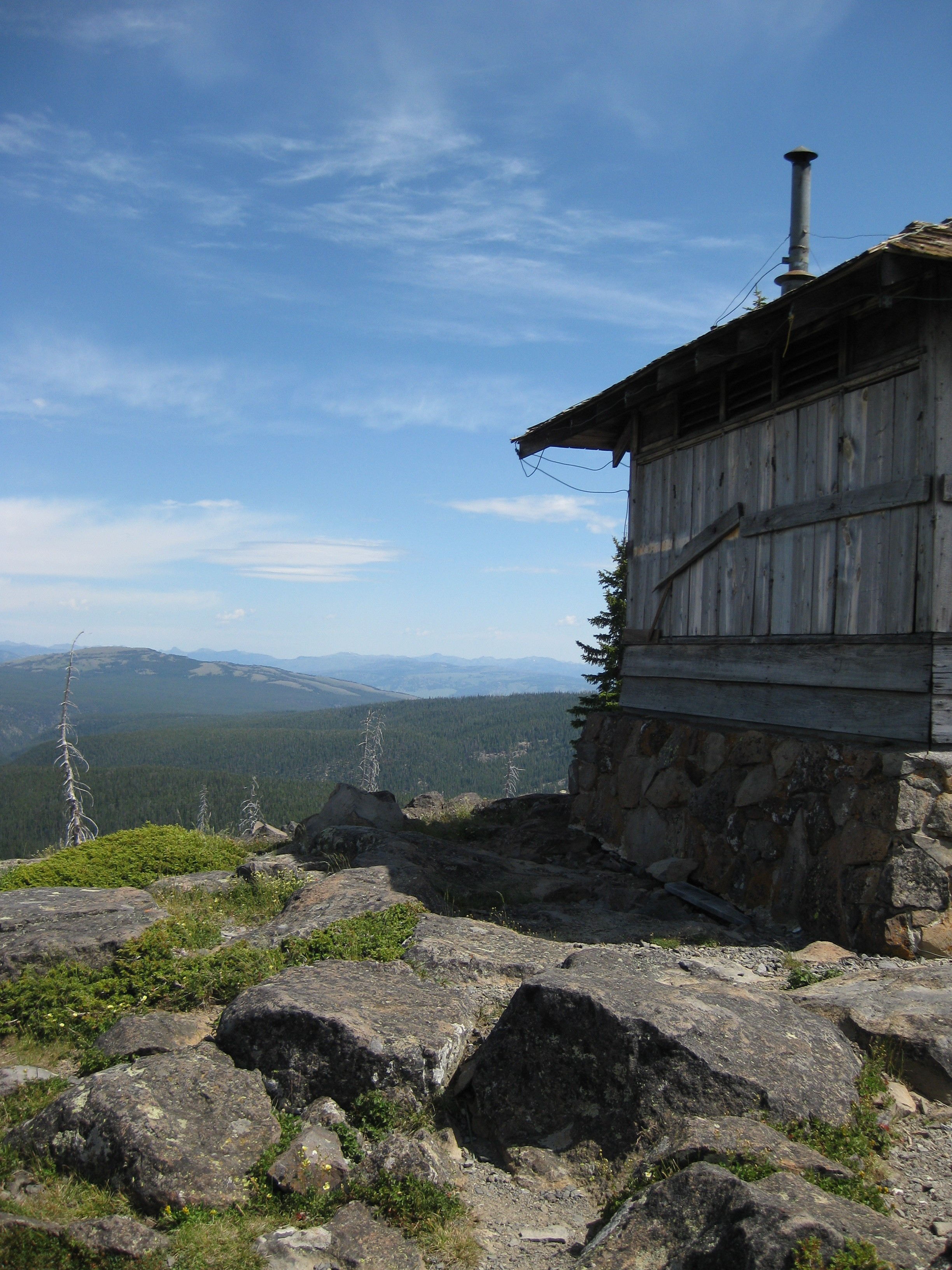Top of Observation Peak Trail