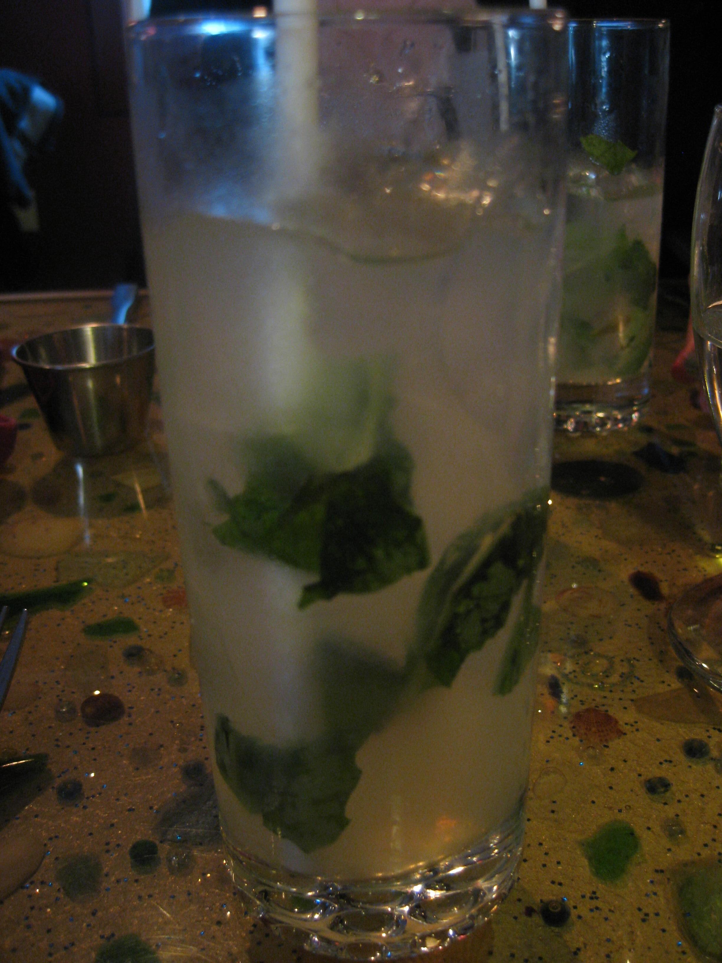 Basil Vodka Lemonade