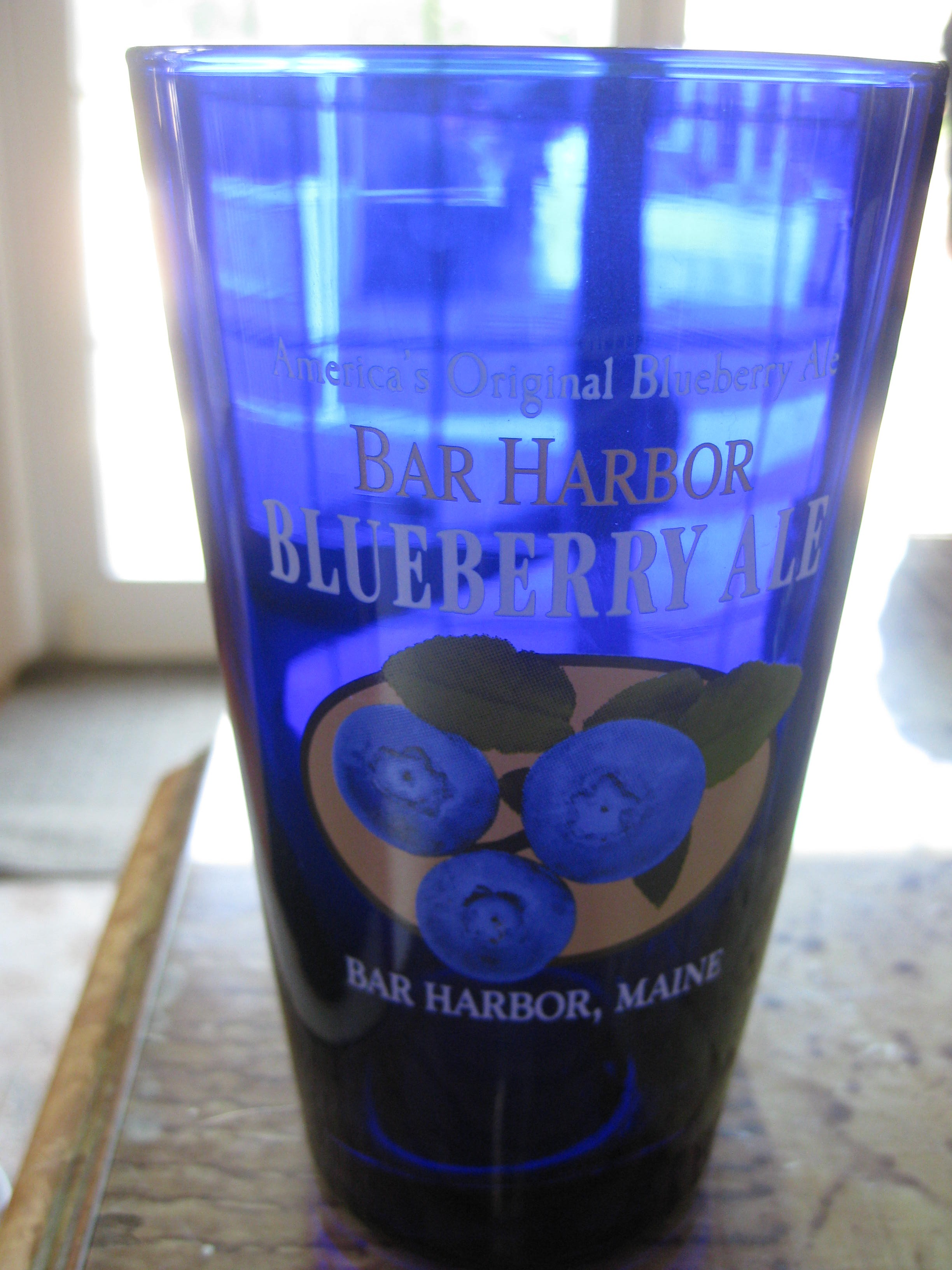 Blueberry Ale from Bar Harbor, Maine
