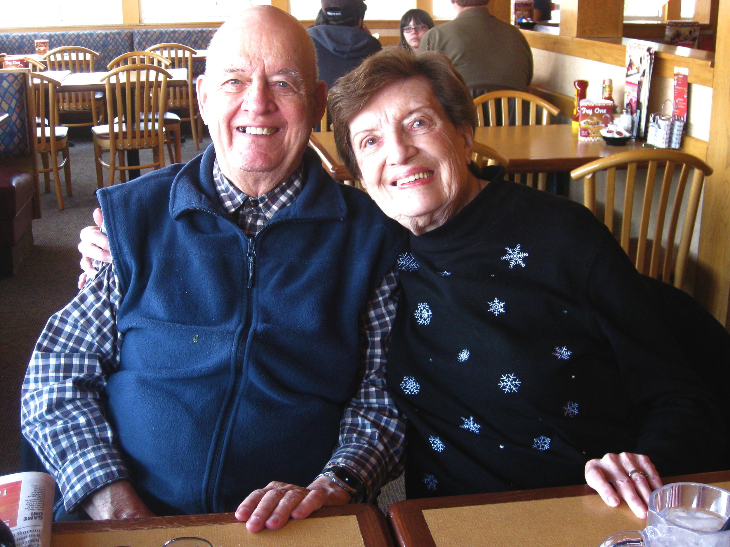Grandma and Grandpa Pesek