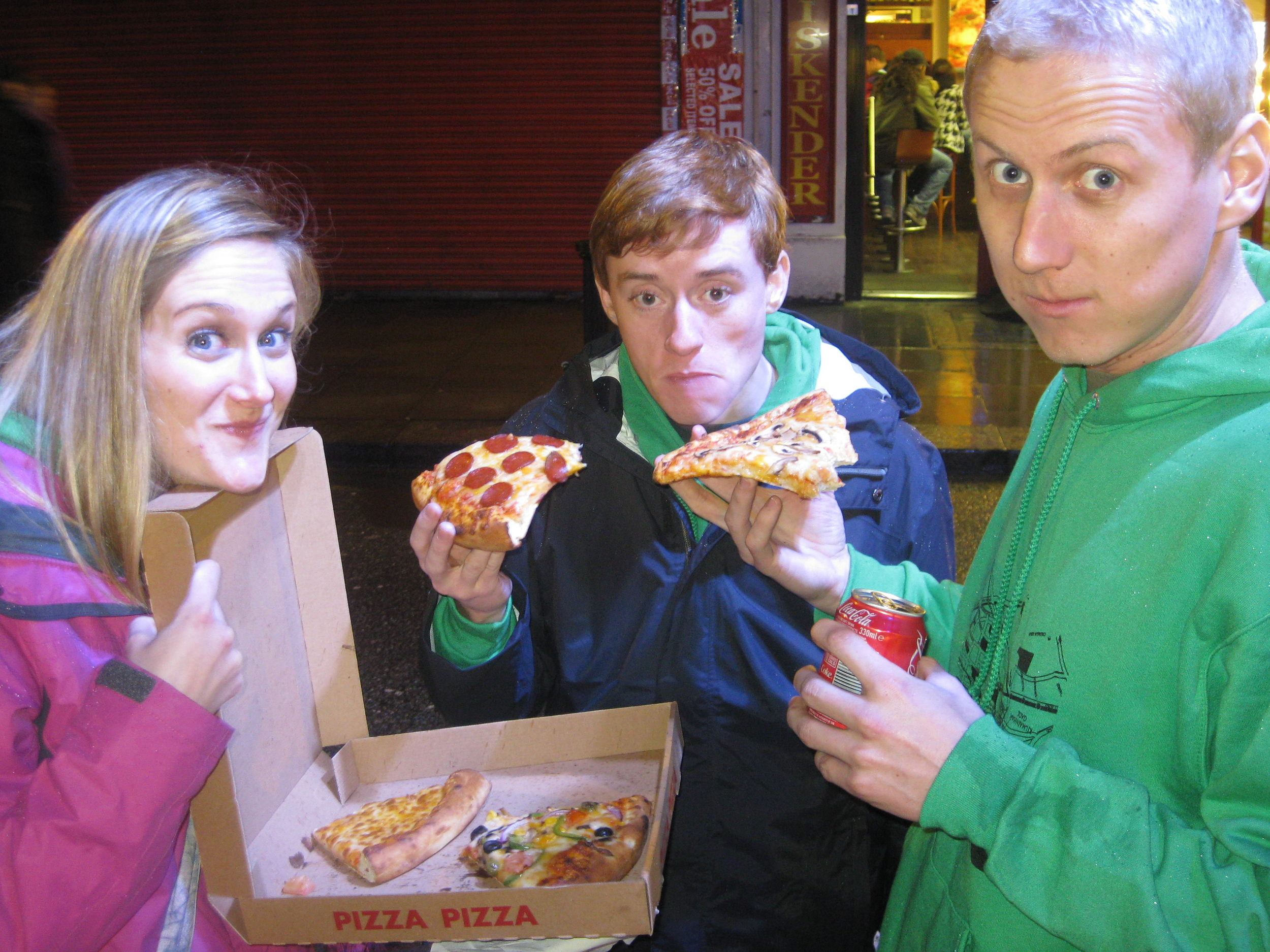 Best Pizza of my life! (Alcohol was not a factor in this assessment ;) )
