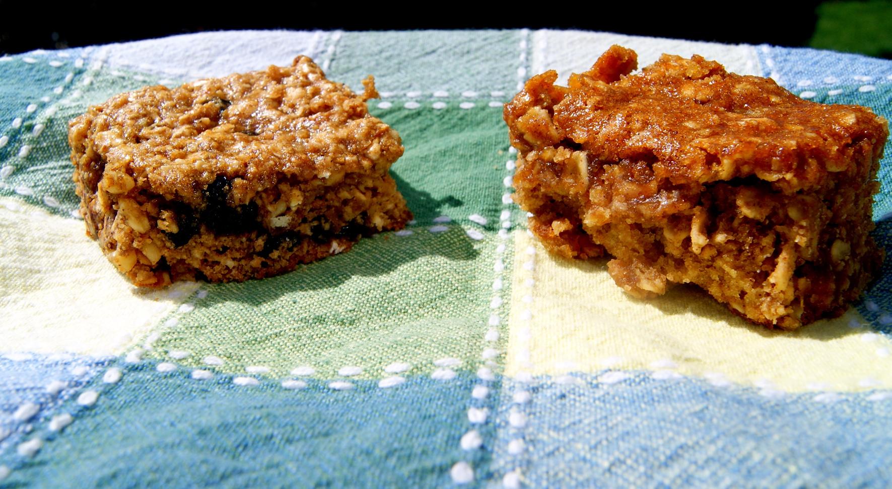 My two winning granola bars