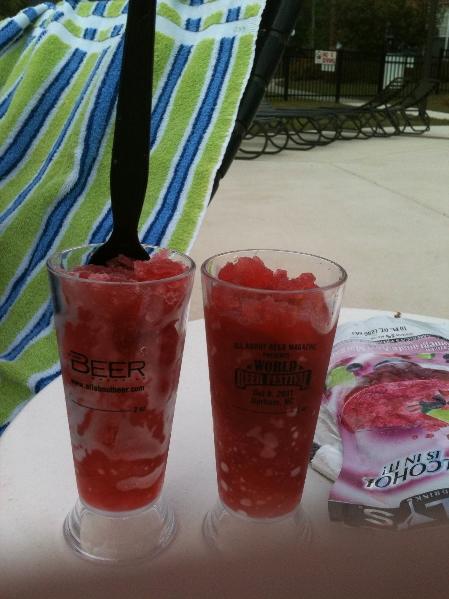 Poolside Margs