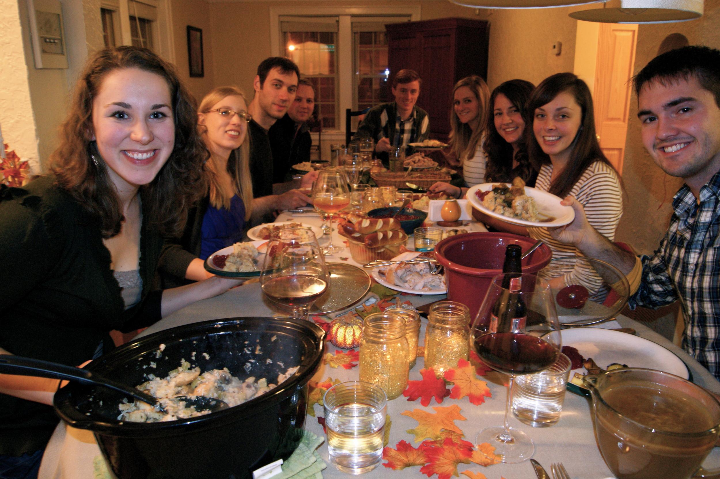 Second annual friendsgiving