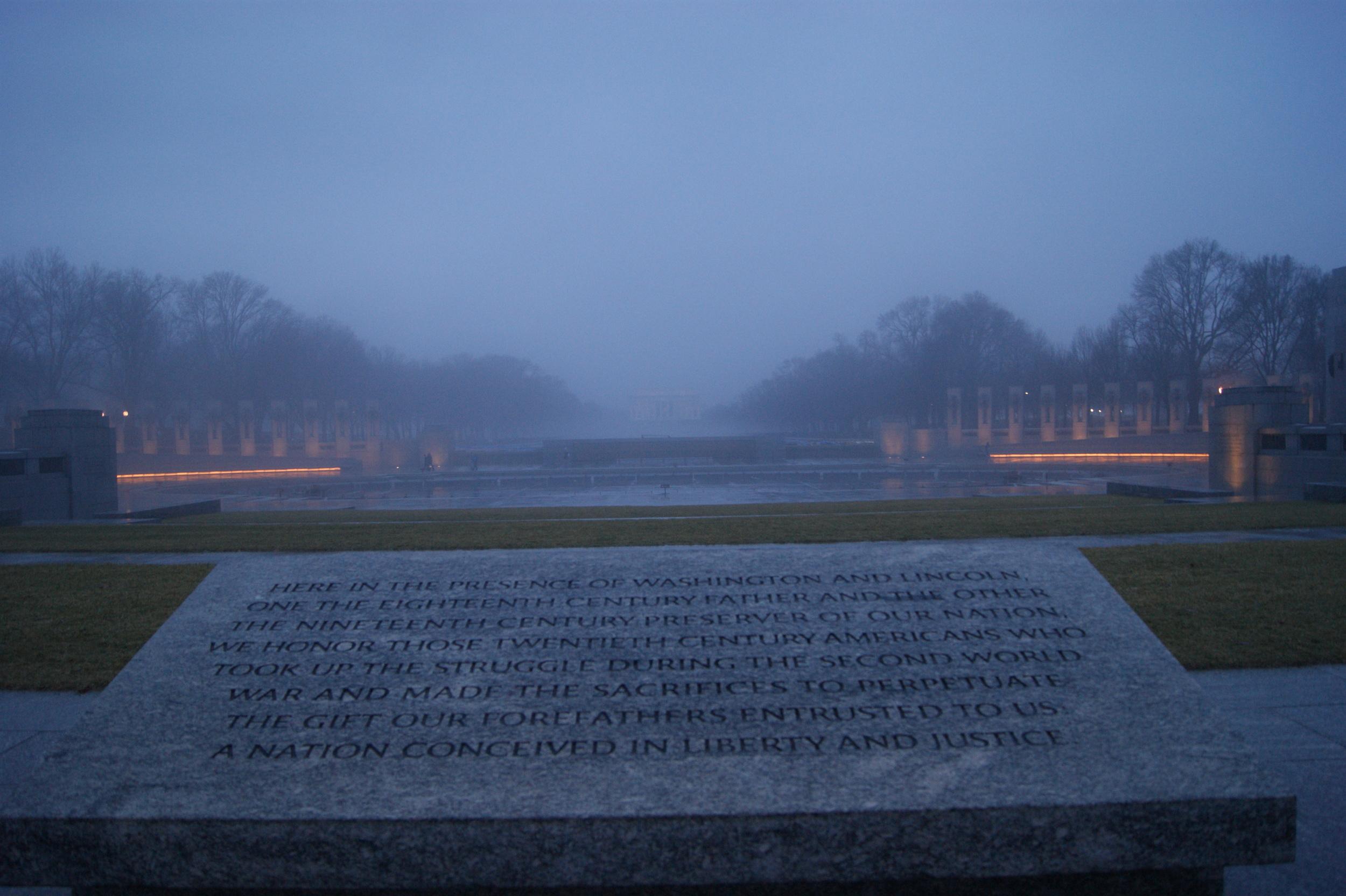 World War II Memorial - National Mall
