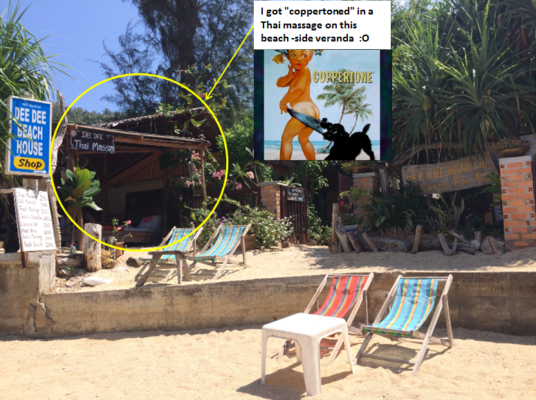 Massages at Dee Dee's Beach Hut