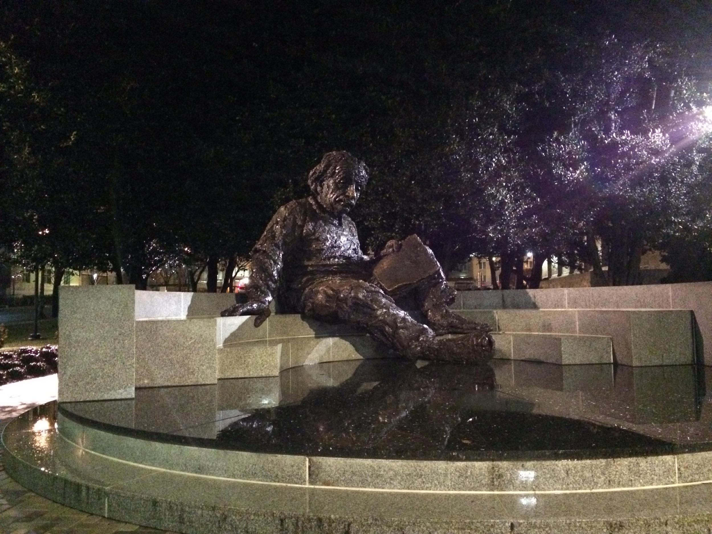 Einstein as a nightcap