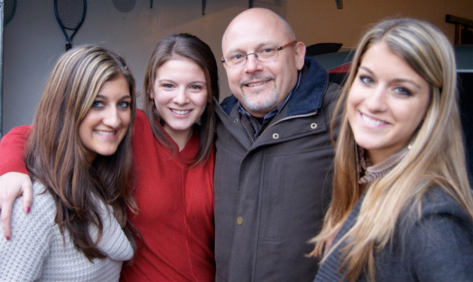 My dad and us girls