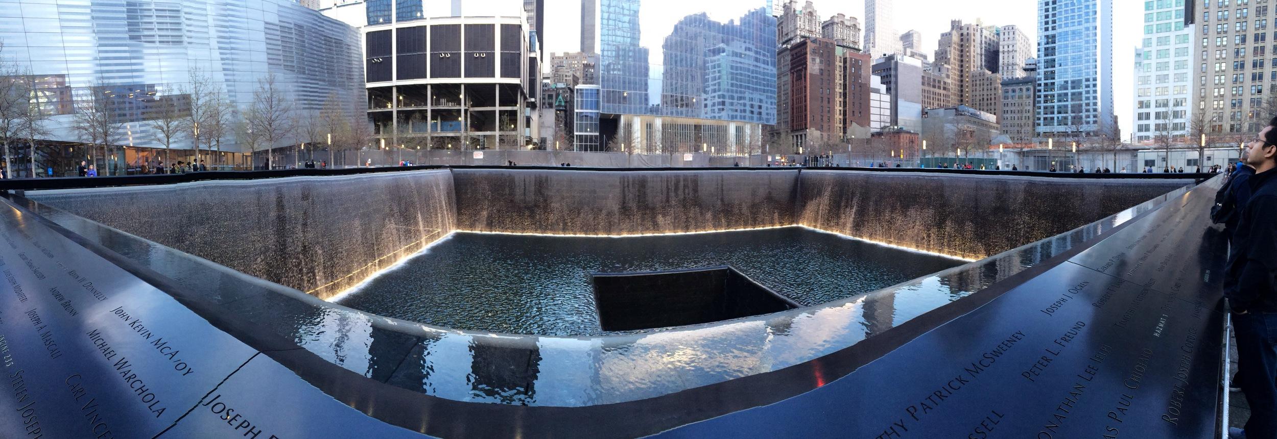 9/11 Memorial Panoramic Shot
