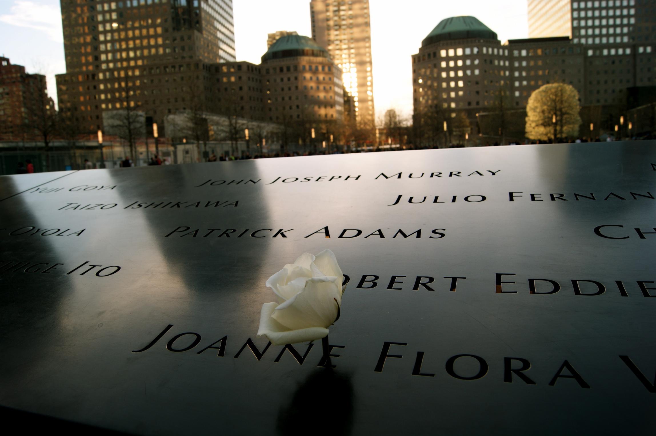 Sunset at Ground Zero