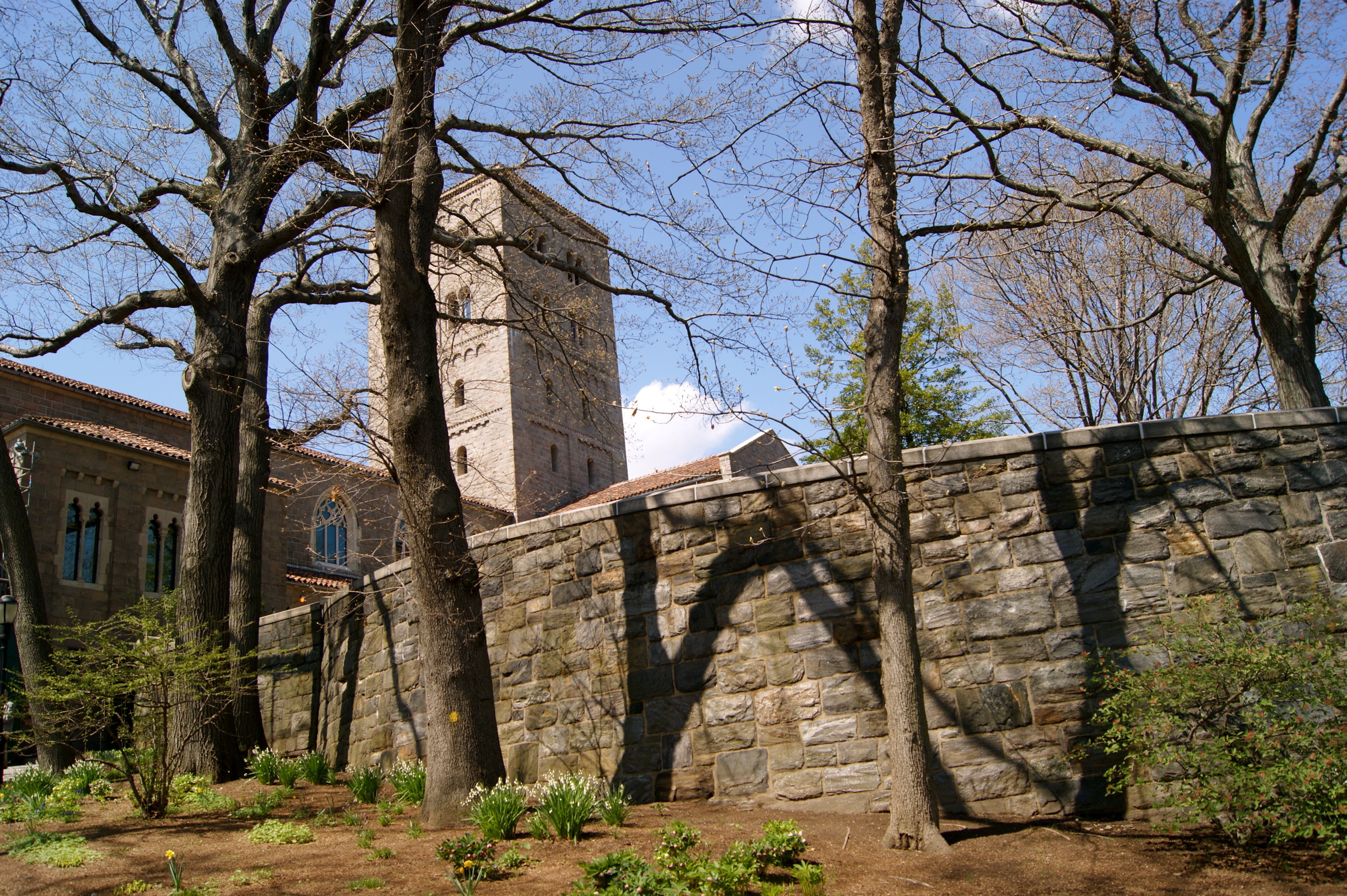 Approaching the Cloisters