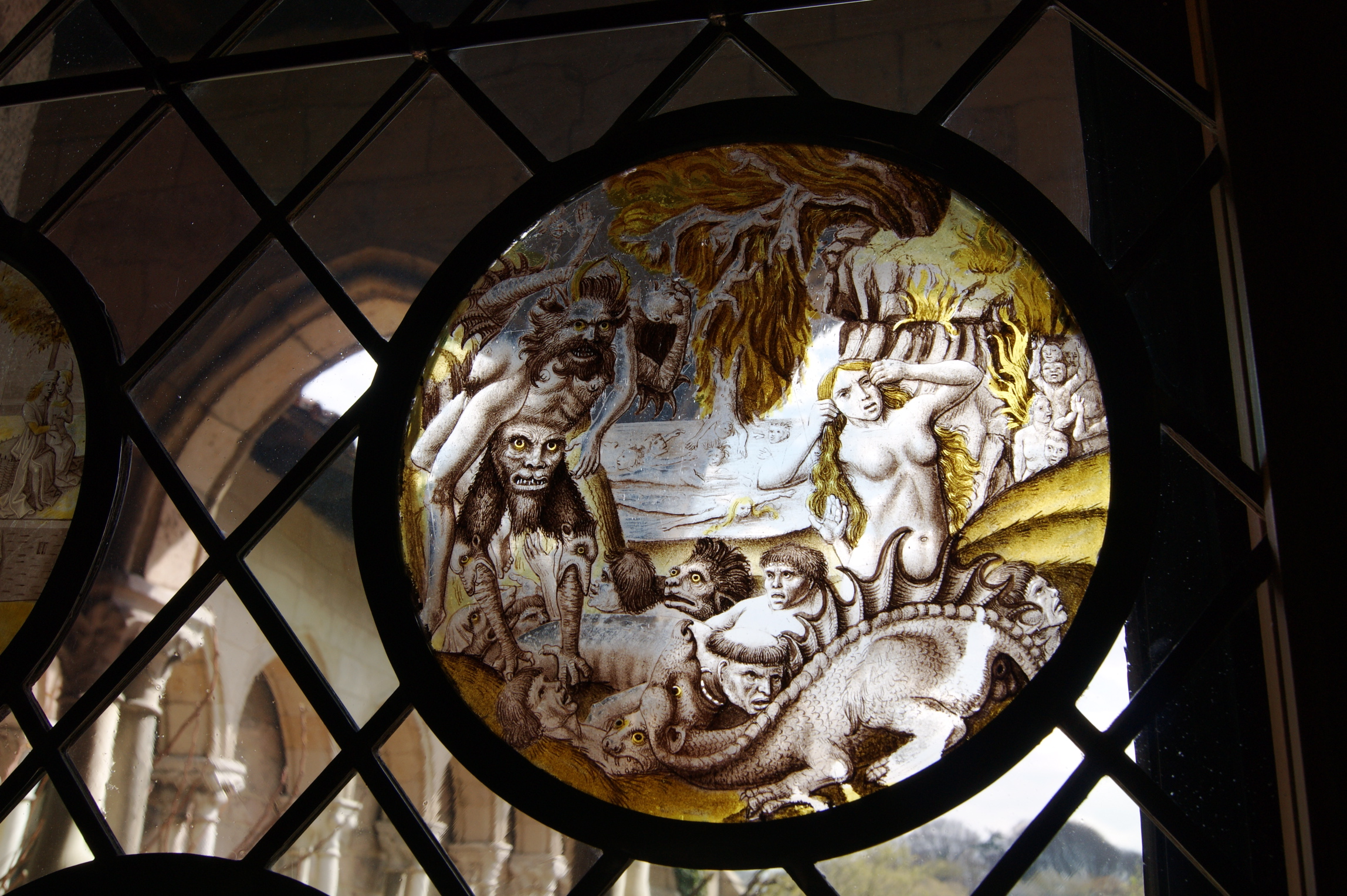 Stained Glass Roundels