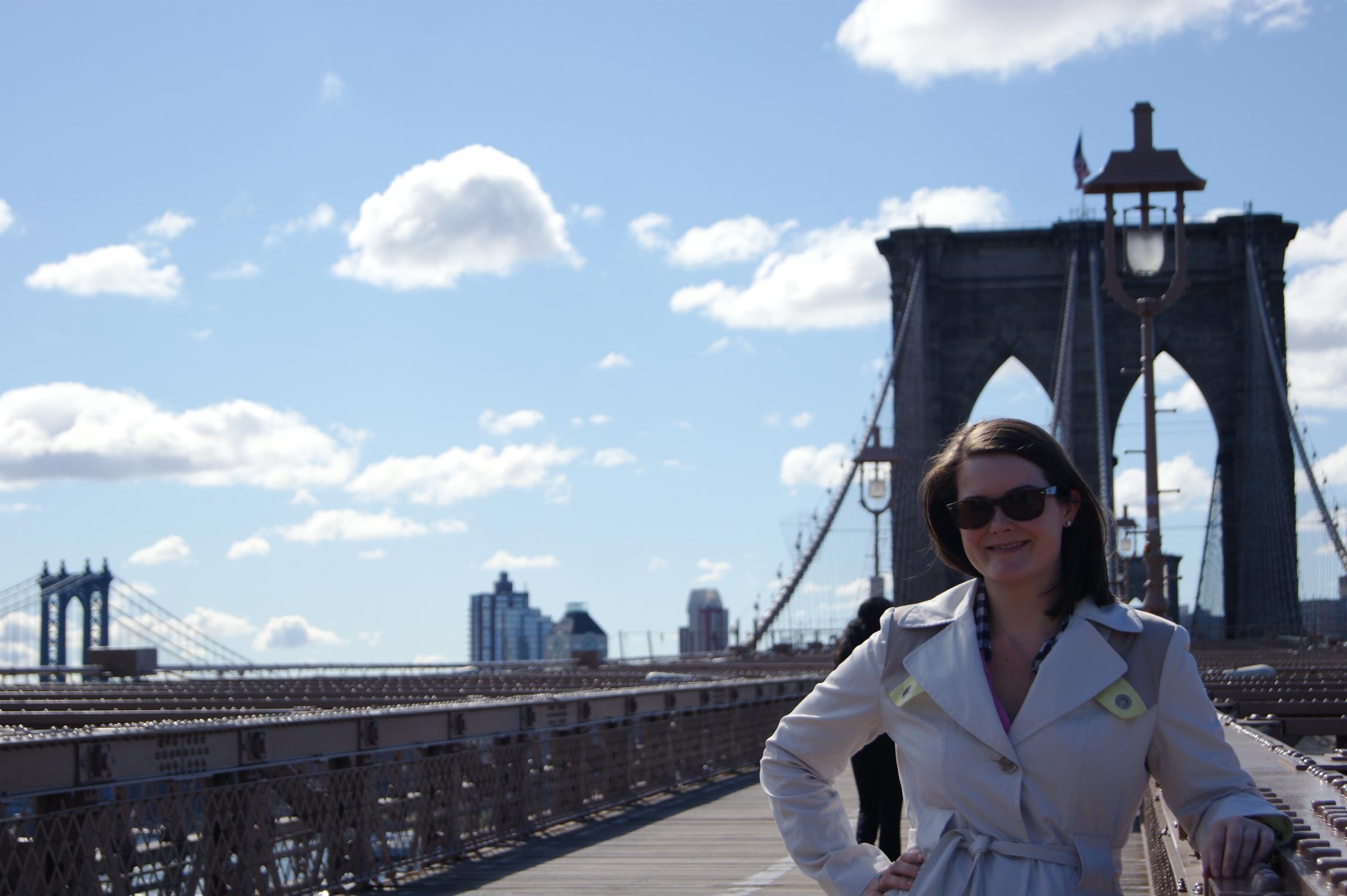 Brigid Brooklyn Bridge.jpg
